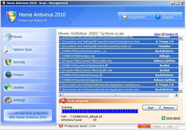 Home Antivirus 2010